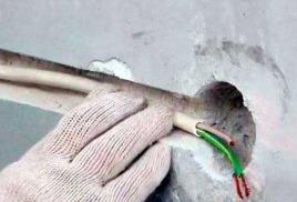 Что нужно делать, если вдруг в квартире, или частном доме неисправен кабель скрытой (внутренней)  проводки?